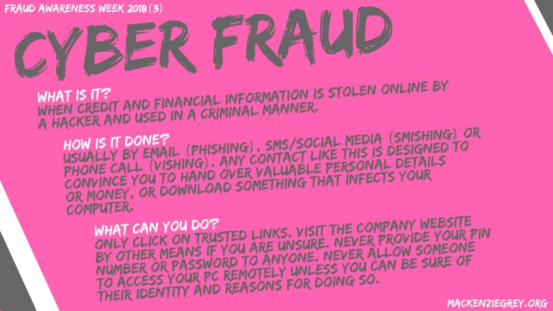 Cyber Fraud Screensaver